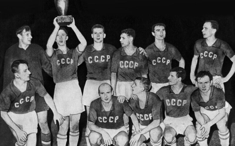 EURO 1960 Winners - Union Soviet team